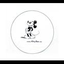 Sketch Dinner Plate - Mickey