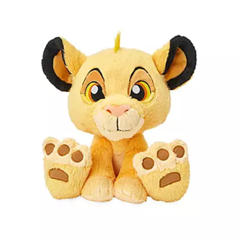 DisneyStore Plush Big Feet - Simba