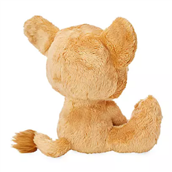 DisneyStore Plush Big Feet - Simba