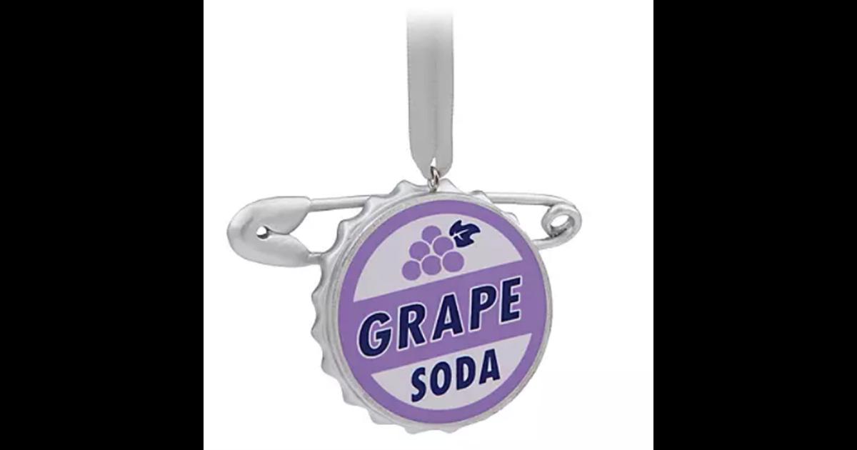 9030 3D Ornament Grape Soda - Up