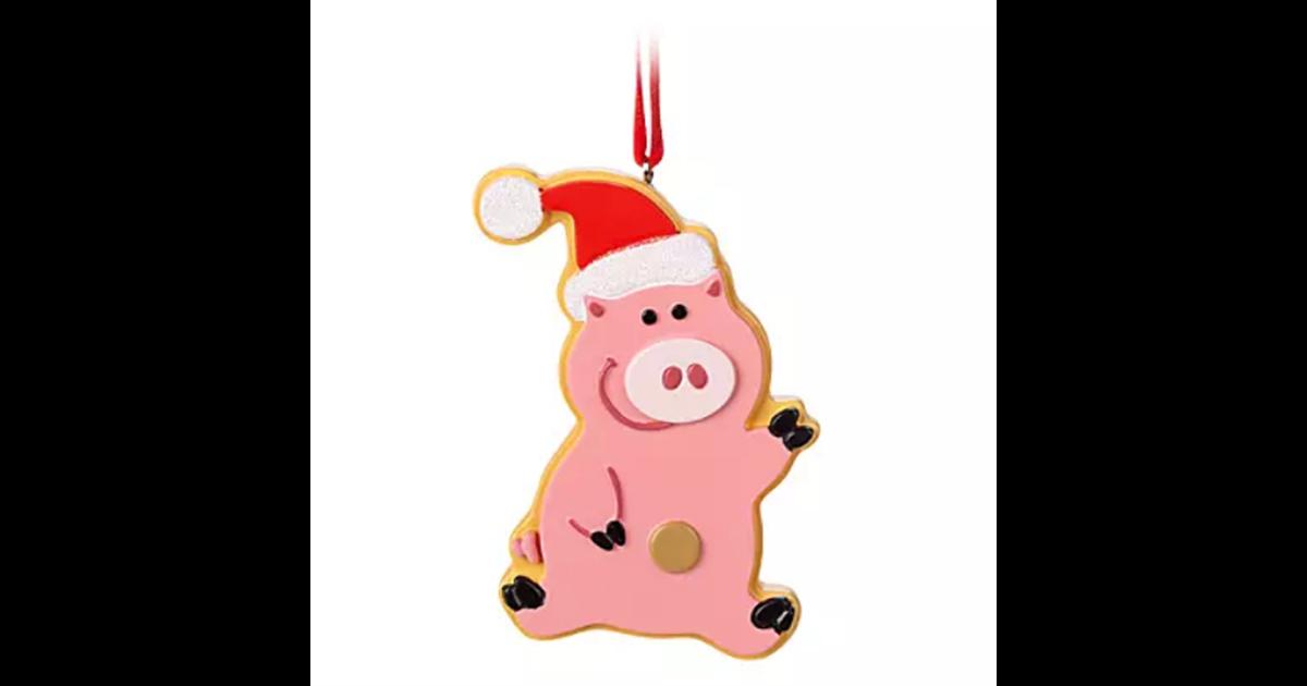 9031 3D Ornament Cookie - Hamm