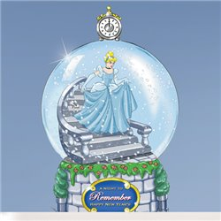 SnowGlobe Mini Happy New Year - Cinderella