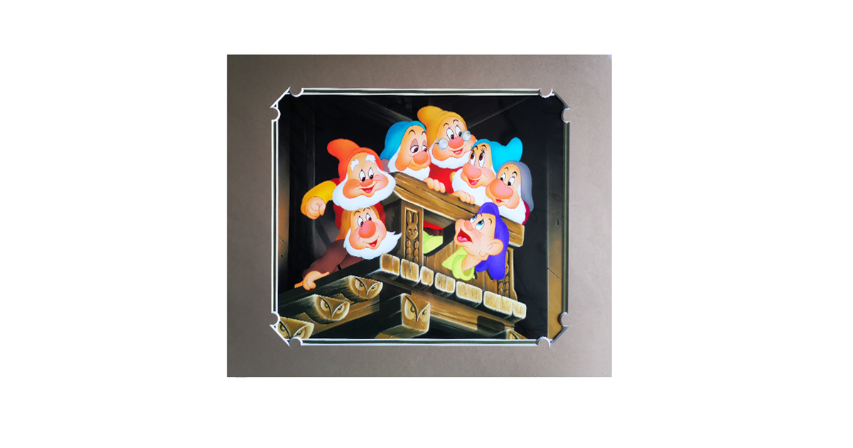 Print By Don 'Ducky' Williams - Seven Dwarfs