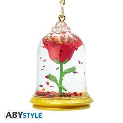 3D Sleutelhanger - Rose