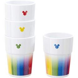 4dlg Beker Set Rainbow - Mickey