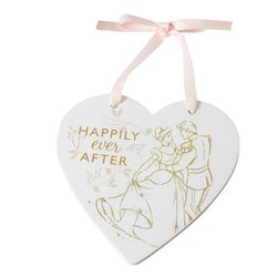 Happily Ever After Plaque - Cinderella