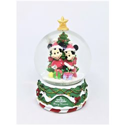 SnowGlobe Mini Merry Christmas - Mickey & Minnie