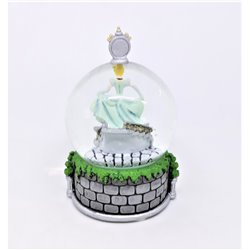 SnowGlobe Mini Happy New Year - Cinderella