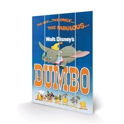 Wood Print - Dumbo