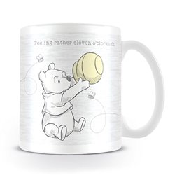 Mug Eleven o'Clockish - Pooh