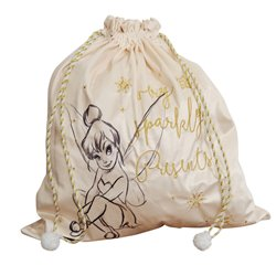 Cream & Gold Gift Sack - Tinker Bell