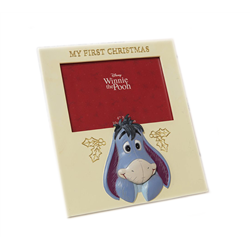 1st Christmas Photo Frame - Eeyore