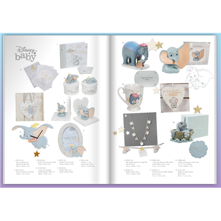 Magical Beginnings Mantel Block - 'Hello  Baby' - Dumbo