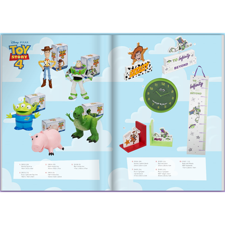 Magical Beginnings Height Chart - Toy Story