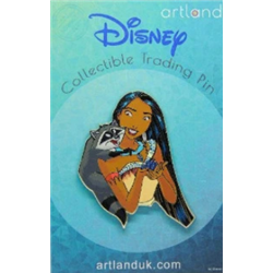 Princess & Friends Pin - Pocahontas & Meeko