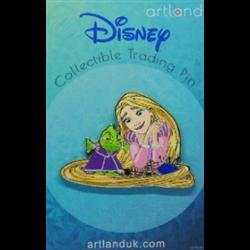 Princess & Friends Pin - Rapunzel & Pascal