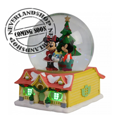 SnowGlobe Christmas Gifts - Mickey & Minnie