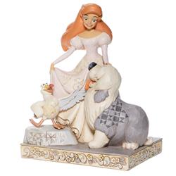 White Woodland Spirited Siren - Ariel
