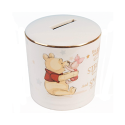 Magical Biginnings Ceramic Money Bank - Pooh & Piglet
