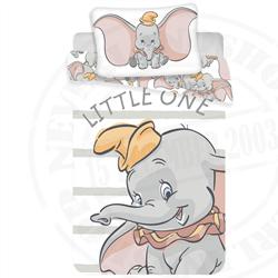 NeverlandShop:Little One Baby Dekbedovertrek - Dumbo