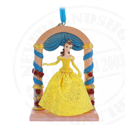 9176 Fairytale Moments Sketchbook Ornament - Belle