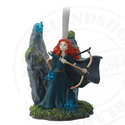 9175 Fairytale Moments Sketchbook Ornament - Merida