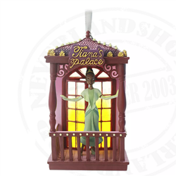 9172 Fairytale Moments Sketchbook Ornament - Tiana