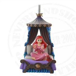 9162 Fairytale Moments Sketchbook Ornament - Ariel & Sebastian