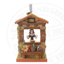 9161 Fairytale Moments Sketchbook Ornament - Snow White