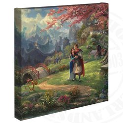 Thomas Kinkade Blossoms of Love - Mulan