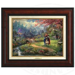 Thomas Kinkade Framed Art on Canvas - Mulan