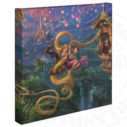 Thomas Kinkade Tangled up in Love - Tangled