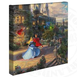 Thomas Kinkade Dancing in the Moonlight - Sleeping Beauty