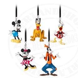5dlg Ornament Set - Mickey & Friend