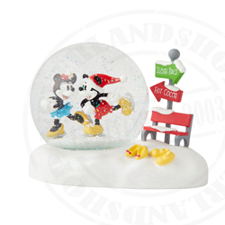 Snowglobe Hot Choca & Sleigh Ride - Mickey & Minnie
