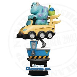 Diorama Coin Ride - Sulley & Big Eyes