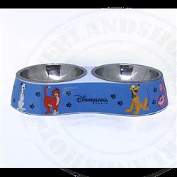 Klein Dubbel Voerbak - Dogs & Cats