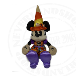 DisneyStore Halloween Plush - Minnie