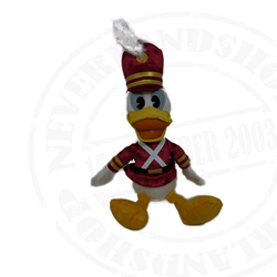 DisneyStore Kerst Plush Soldier - Donald