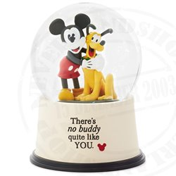 SnowGlobe Buddies - Mickey &  Pluto