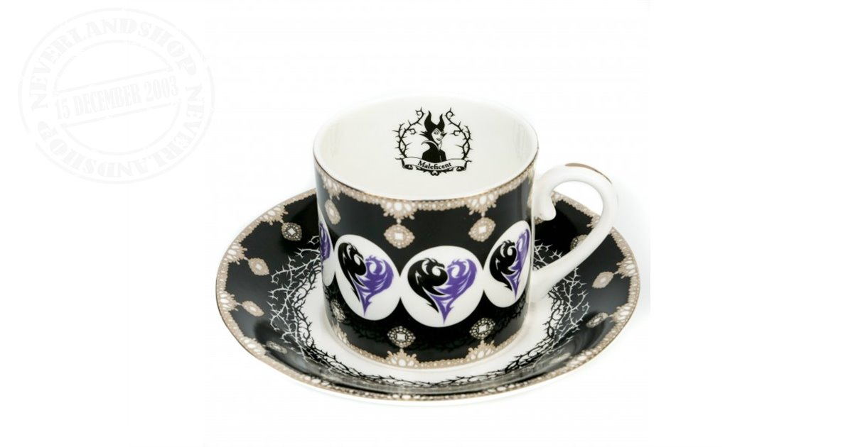 Cup & Saucer - Maleficent