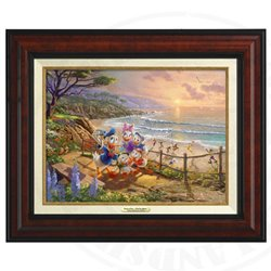 Thomas Kinkade Framed Art on Canvas - Donald & Co