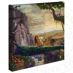 Thomas Kinkade Return to Pride Rock - Lion King