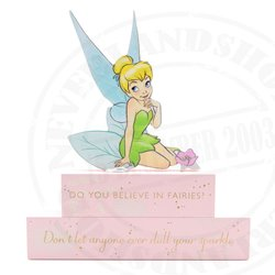 Block Plaque - Tinker Bell