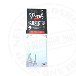Paris Gourmet Notitieblok - Ratatouille