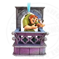 9145 Singing Sketchbook Ornament - Quasimodo