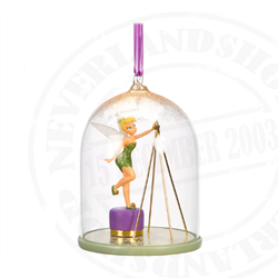 9151 Dome Ornament Topper - Tinker Bell