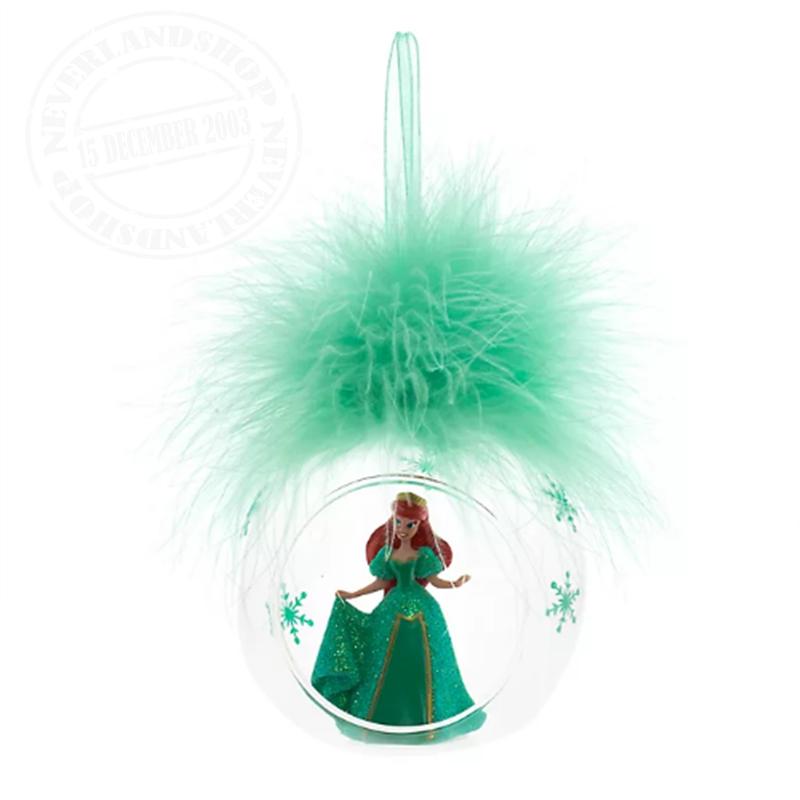 8916 3D Ornament  in Open Glazen Bal - Ariel