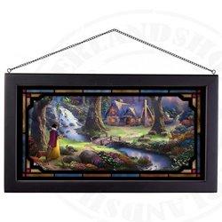 Framed Glass Art - Snow White