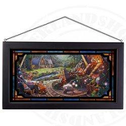 Framed Glass Art - Seven Dwarfs